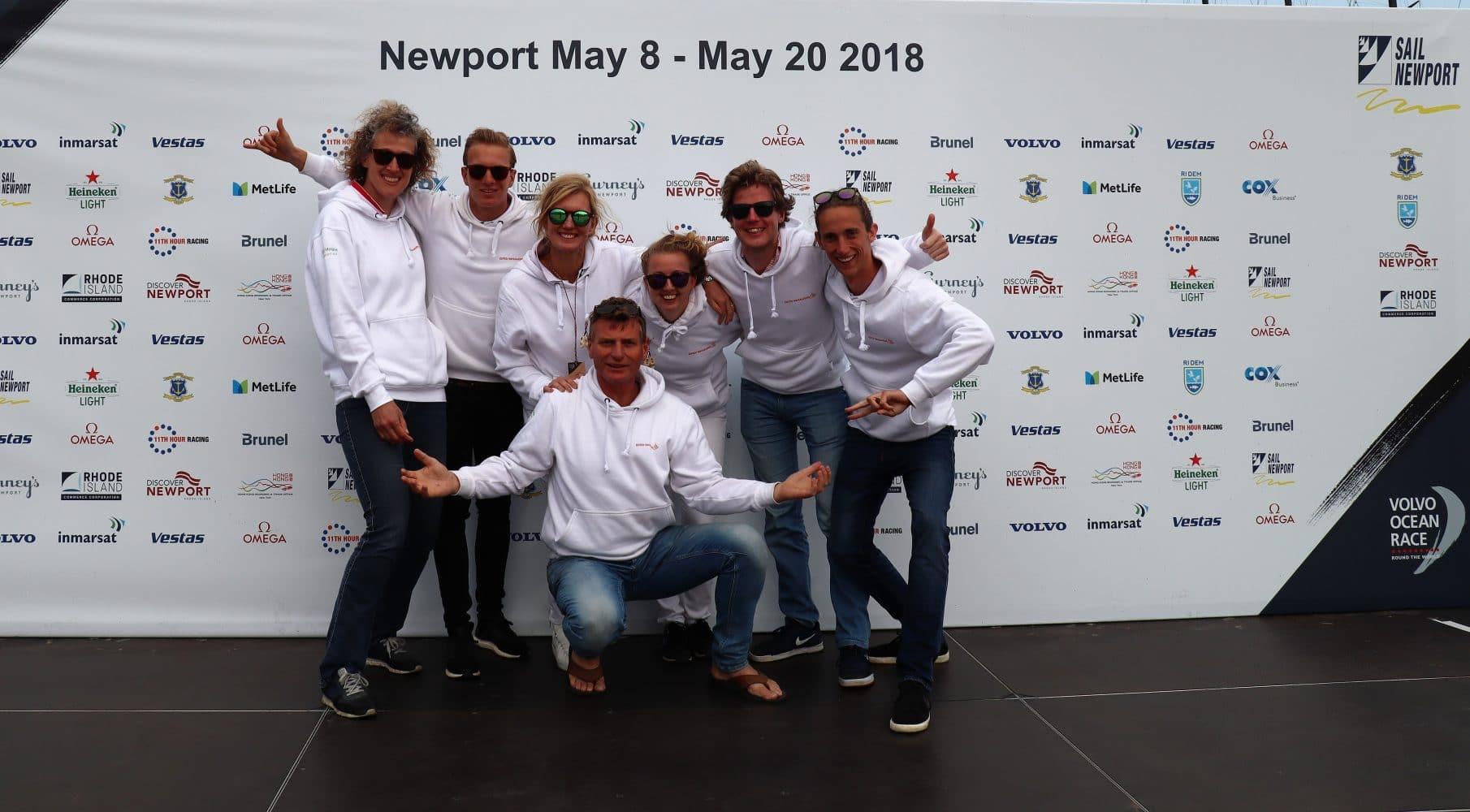 Bo-Schreur_Newport_team